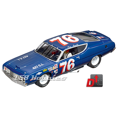 27616 Carrera Evolution Ford Torino Talladega, No.76, 1970