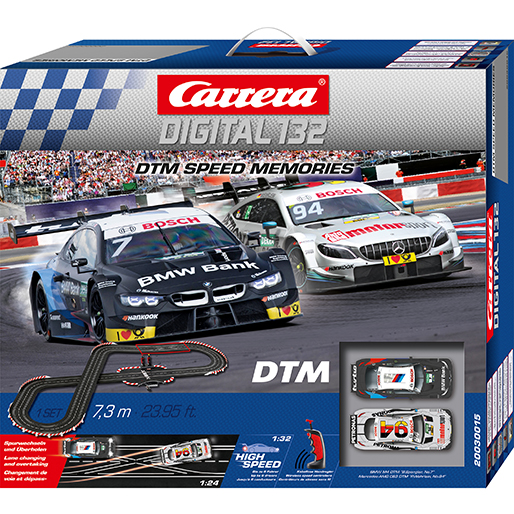 Carrera 30015 Digital 132 DTM Speed Memories Wireless+