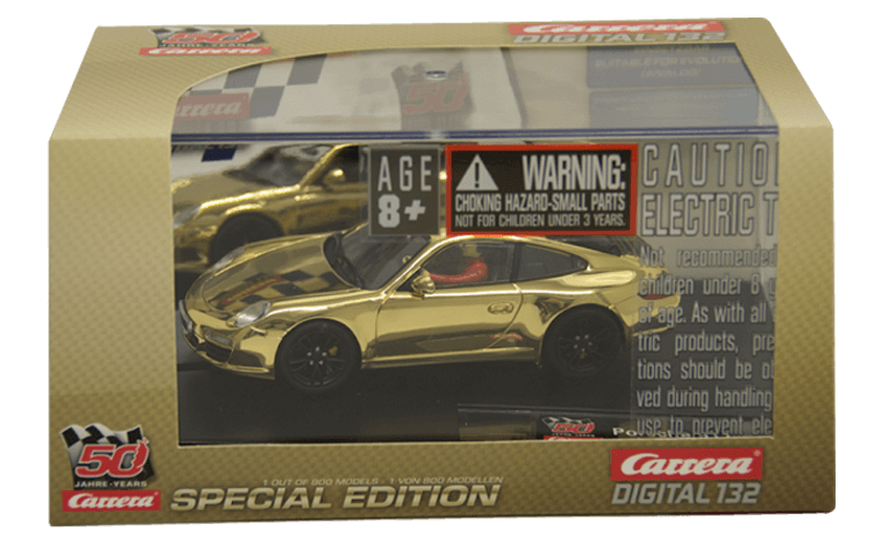 30671 Carrera Porsche 911 50 Years Special Gold Limited Edition