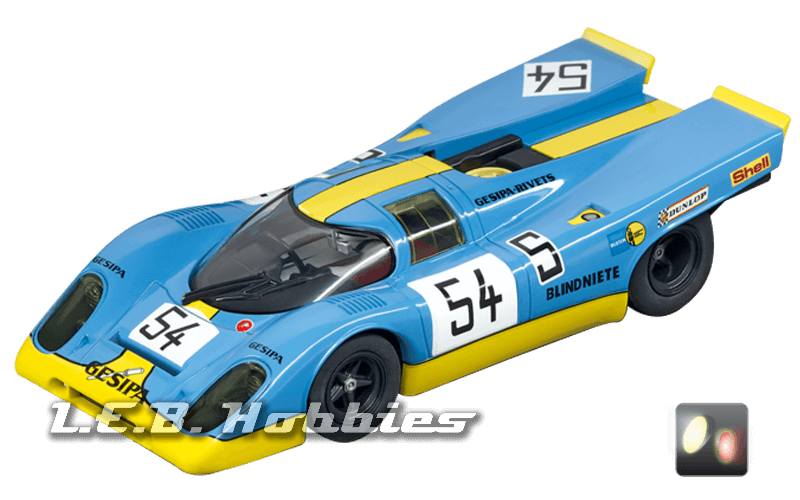 30791 Carrera Digital 132 Porsche 917K Gesipa Racing Team, No.54