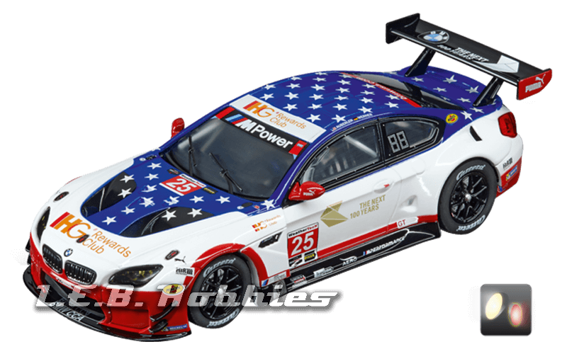 30811 Carrera Digital 132 BMW M6 GT3, Team RLL, No.25