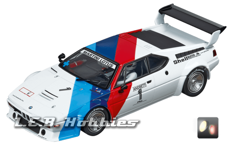 30814 Carrera Digital 132 BMW M1 Procar, Andretti, No.01, 1979