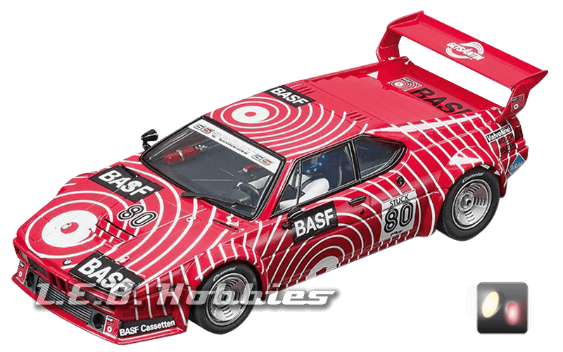 30829 Carrera Digital 132 BMW M1 Procar, BASF No.80, 1980