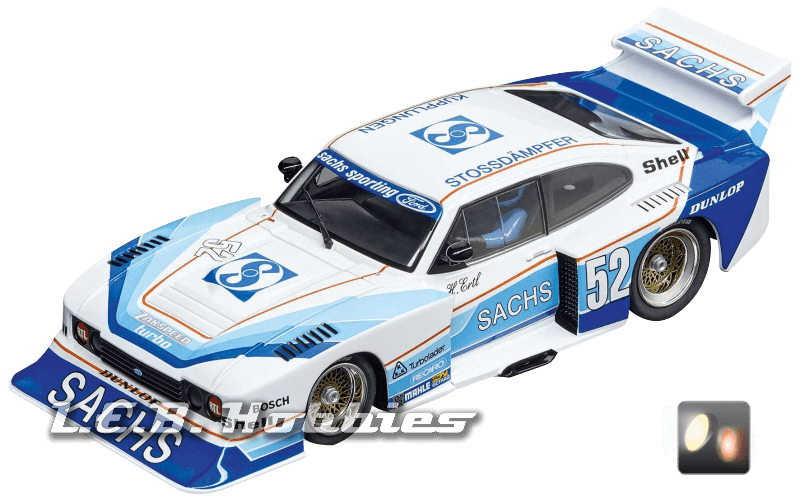 30831 Carrera D132 Ford Capri Zakspeed Turbo Sachs Sporting