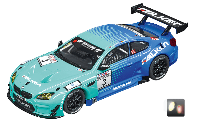 30844 Carrera Digital 132 BMW M6 GT3, Team Falken, No.3