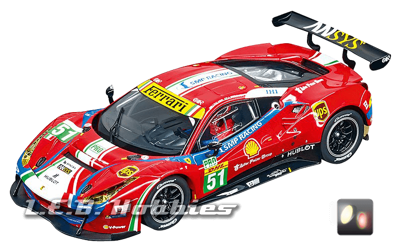 30848 Carrera Digital 132 Ferrari 488 GT3, AF Corse, No.51