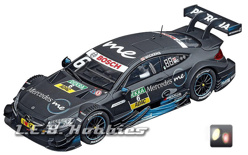 30858 Carrera D132 Mercedes-AMG C 63 DTM, Robert Wickens, No.6