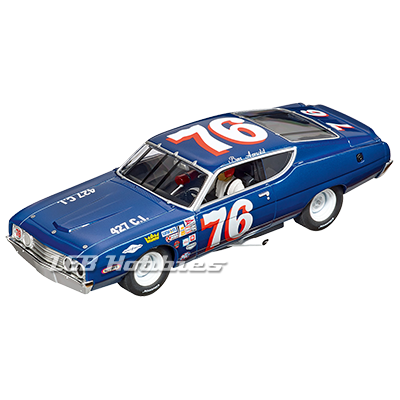 30907 Carrera Digital 132 Ford Torino Talladega, No.76, 1970