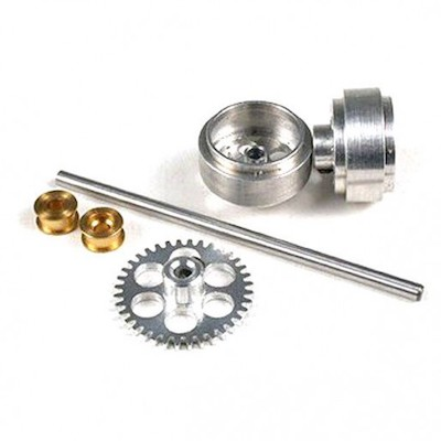 "NSR 4002 Rear Axle Kit with 16"" wheels for SW Scalextric/Fly"