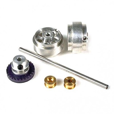 "NSR 4011 Rear Axle Kit for 17"" wheels for Inline cars"