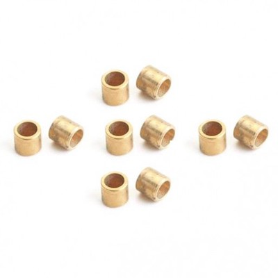 "NSR4816 NSR 3/32"" Brass Axle spacers 0.100""/2.50mm, 10/pk"