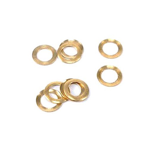 NSR 4818 Pickup Guide Brass Spacers 0.005/0.12mm, 10/pk