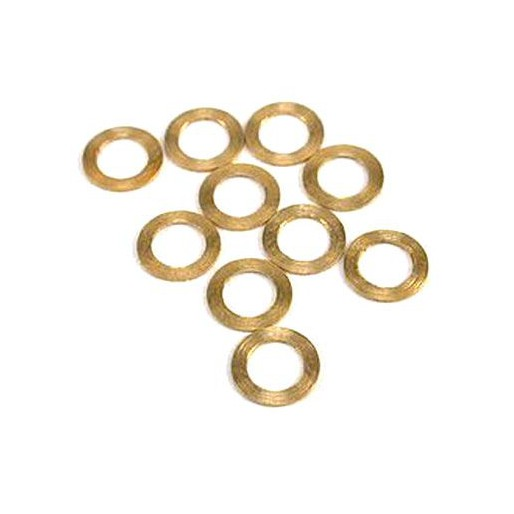 "NSR 4819 Pickup Guide Brass Spacers 0.010""/0.25mm, 10/pk"