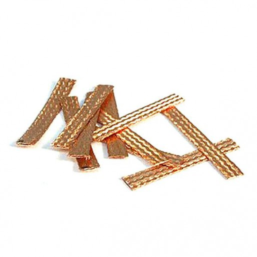 NSR 4822 Super Racing Copper Braids 0.2mm Thick, 10/pk