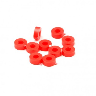 "NSR 4853 3/32"" Plastic Axle Spacers .079""/2.00mm, 10/pk"