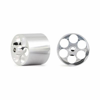 NSR 5008 Aluminum Rear Wheels O.D.17 x 14mm for Fly Truck, 2/pk