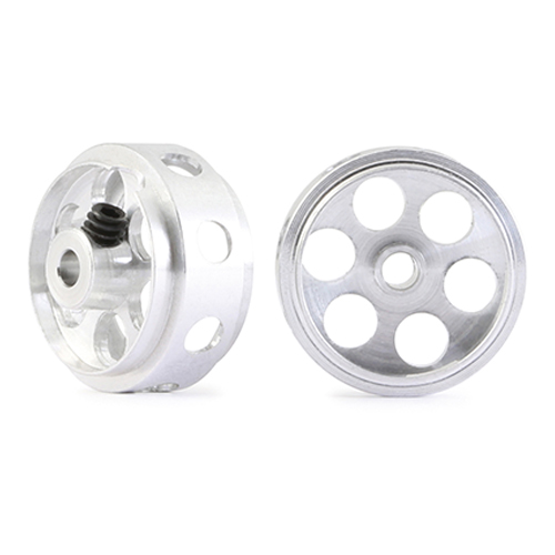 NSR 5009 Aluminum Front Wheels O.D.16.5x8.3mm Drilled, No-Air