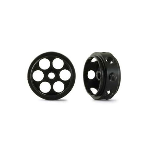 "NSR 5024 3/32"" CNC Plastic Ultralight Wheels O.D.17mm, 4g, 2/pk"