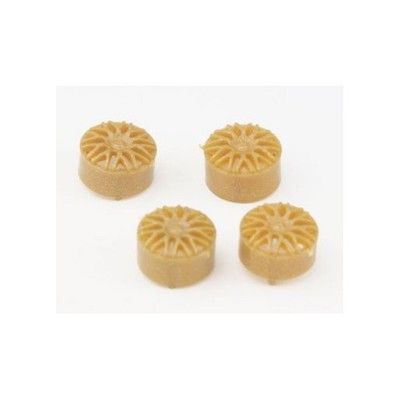 "NSR5427 NSR BBS Type Wheel Inserts for 16"" Wheels Gold, 4/pk"