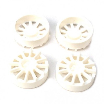 "NSR 5431 12 Spoke Wheel Inserts for 17"" Wheels White, 4/pk"