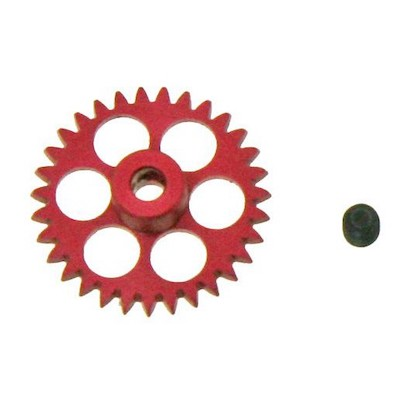 NSR 6231 3/32 31t Anglewinder Gear 17.5mm Extralight Aluminum