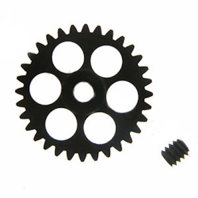 NSR 6232 3/32 32t Anglewinder Gear 17.5mm Extralight Aluminum