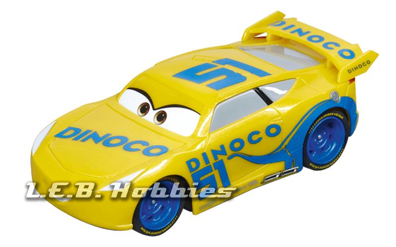 64083 Carrera GO!!! Disney/Pixar CARS 3 - Dinoco Cruz