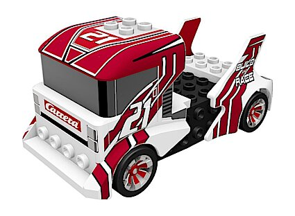 Carrera 64191 GO!!! Build 'N Race Truck, White