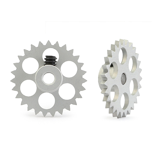 NSR 6527 3/32 27t Anglewinder Gear 16mm, Extralight Aluminum