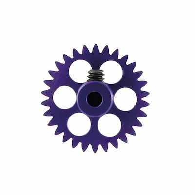 NSR 6530 3/32 30t Anglewinder Gear 16.8mm Extralight Aluminum