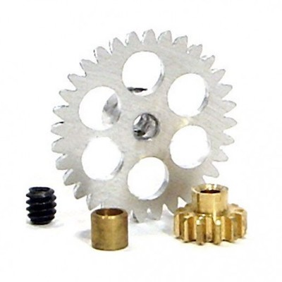 NSR 6704 3/32 32T AW Gear+12T Pinion+3mm Axle Spacer for Ninco