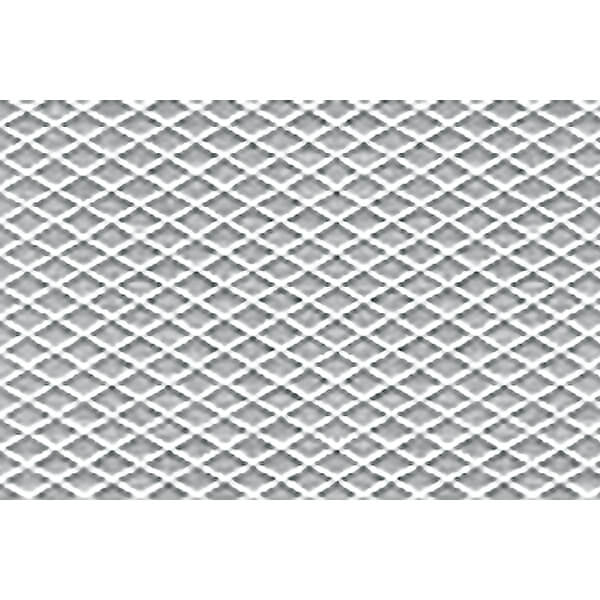 JTT 97456 1:100 HO-Scale Tread Plate Plastic Pattern Sheet, 2/pk