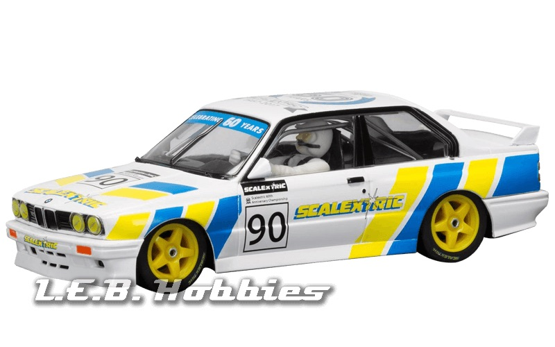 C3829A Scalextric Anniversary Collection 1990s, BMW E30 M3