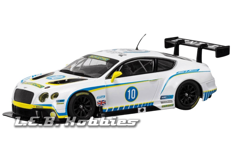 C3831A Scalextric Ann. Collection 2010s, Bentley Continental GT3