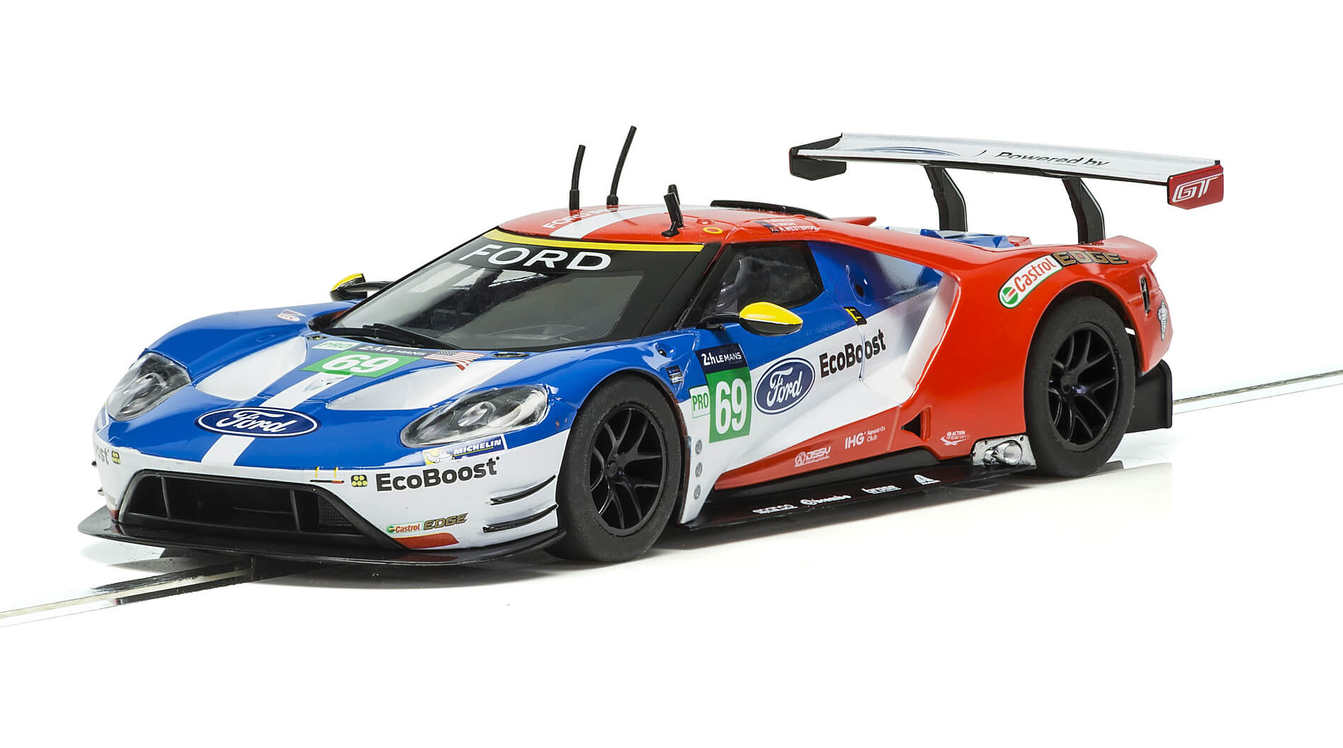 C3858 Scalextric Ford GT GTE Le Mans 2017, No.69