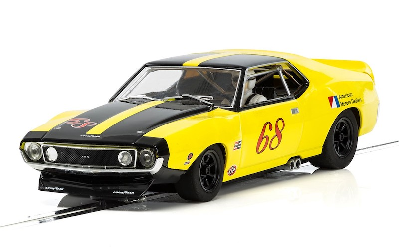 C3921 Scalextric AMC AMX Javelin Trans Am Roy Woods Racing, 1971