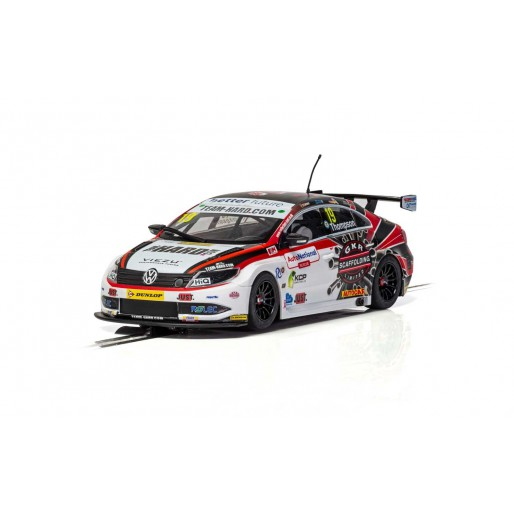 C4016 Scalextric VW Passat CC Team Hard BTCC 2018 Bobby Thompson