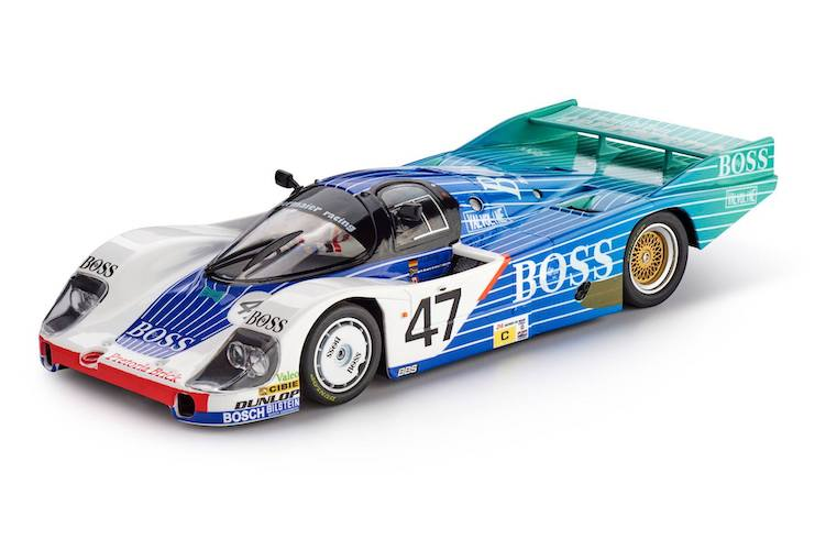 SICA02I Slot.it Porsche 956 LH, No.47, Boss Le Mans 1984