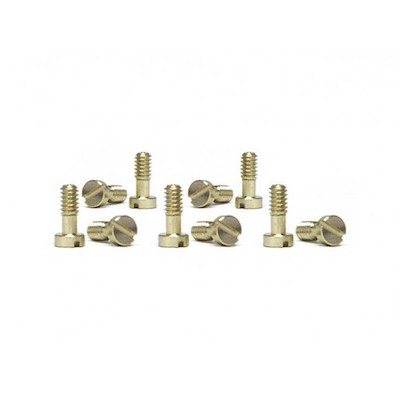 SICH53 Slot.it Motor Pod Screws 2.2x5.3mm, Brass, Small Head