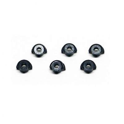 SICH72 Slot.it Motor Mount, Plastic Retainer Nuts, 6/pk