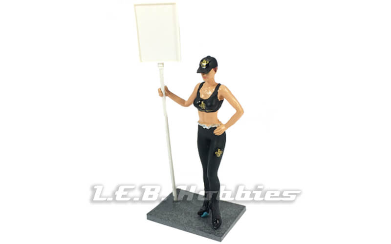 Racer Sideways SWFIG/004 JPS Racing Grid Girl Figure, Dania