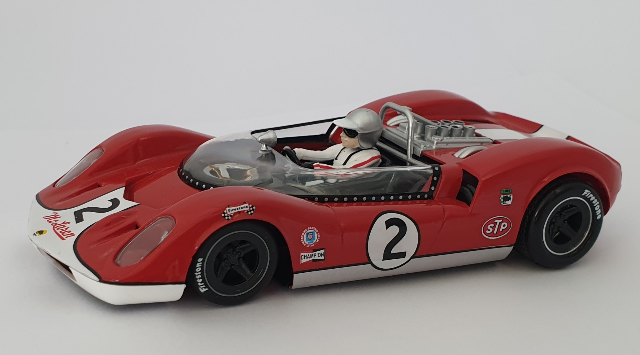CA00402S/W Thunder Slot McLaren ELVA MKI Can-Am, No.2