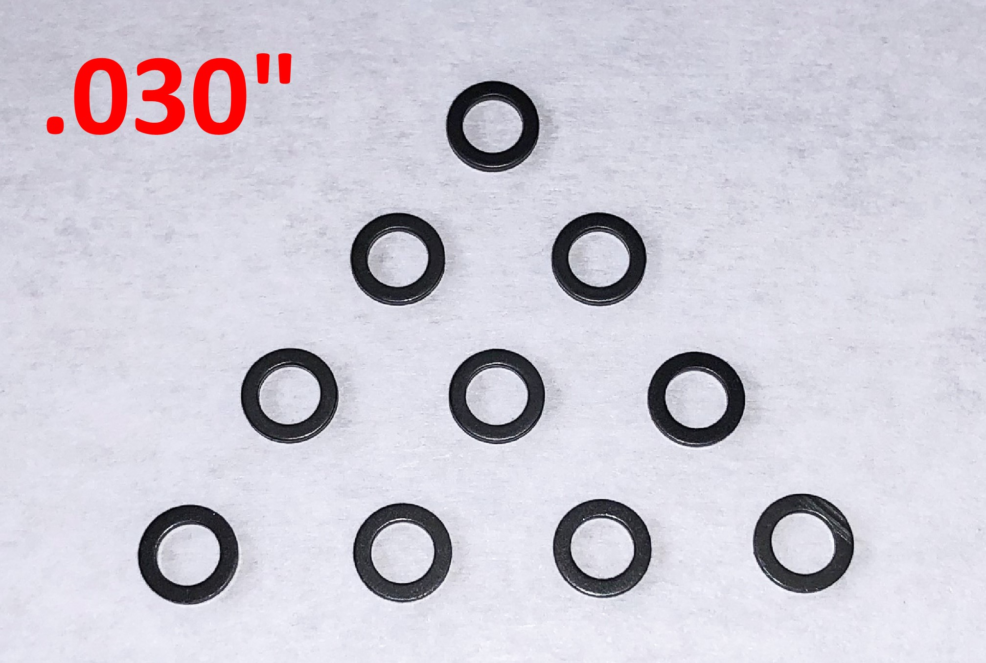 "GS-03010-N SCC Guide Spacers .030"" Thick, Nylon, 10/pk"