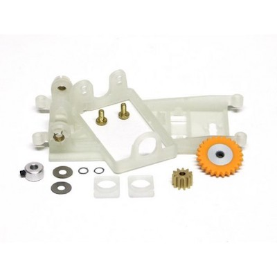 SIKK14B Slot.it Motor Mount AW Flat6 Conversion Kit 1.0mm Offset