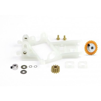 SIKK14C Slot.it Motor Mount AW Flat6 Conversion Kit 1.0mm Offset