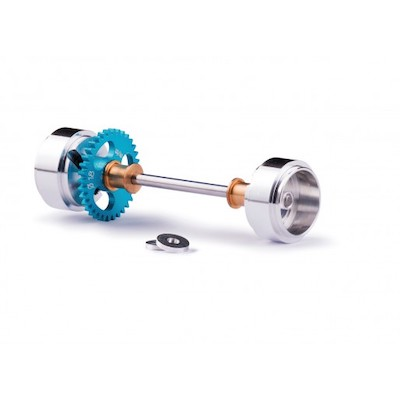 Slot.it SIKK05B Axle Starter Kit Sidewinder Z34 15.8x8.2mm Wheel