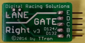 30345LG Lane Gate Anti Collision Chip-Right for Carrera 30345