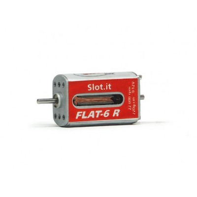 SIMN11H-2 Slot.it Flat-6R 22k rpm motor Low Profile 220gm/cm