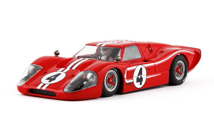 NSR 1163 Ford GT40 MK IV, No.4 Limited Edition, Body Only