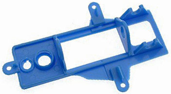 NSR 1241 Inline Long Can Motor Mount EVO2 Soft, Blue